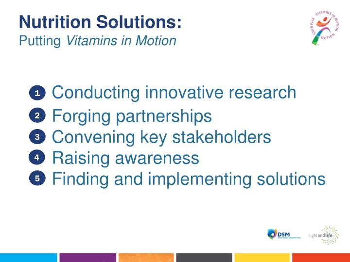 Nutrition Solutions: