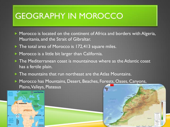 Geography in Morocco