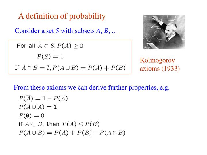 A definition of probability