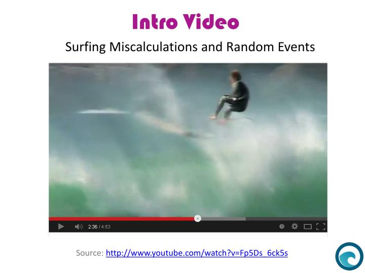 Surfing Miscalculations and Random Events
