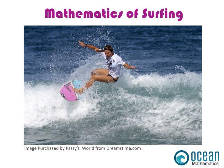 Mathematics of Surfing