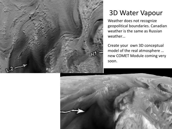 3D Water Vapour