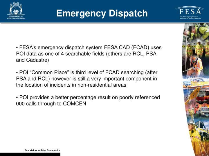 Emergency Dispatch
