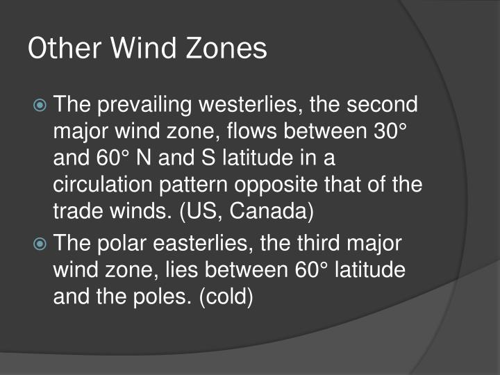 Other Wind Zones