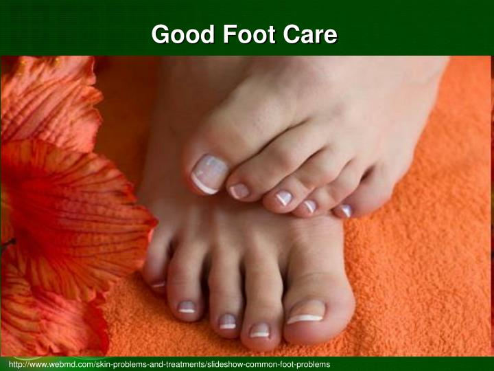 Good Foot Care