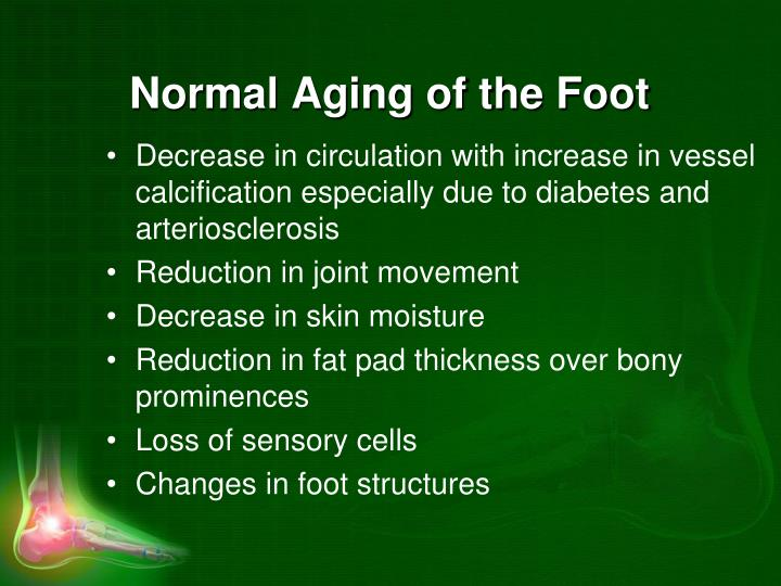Normal Aging of the Foot
