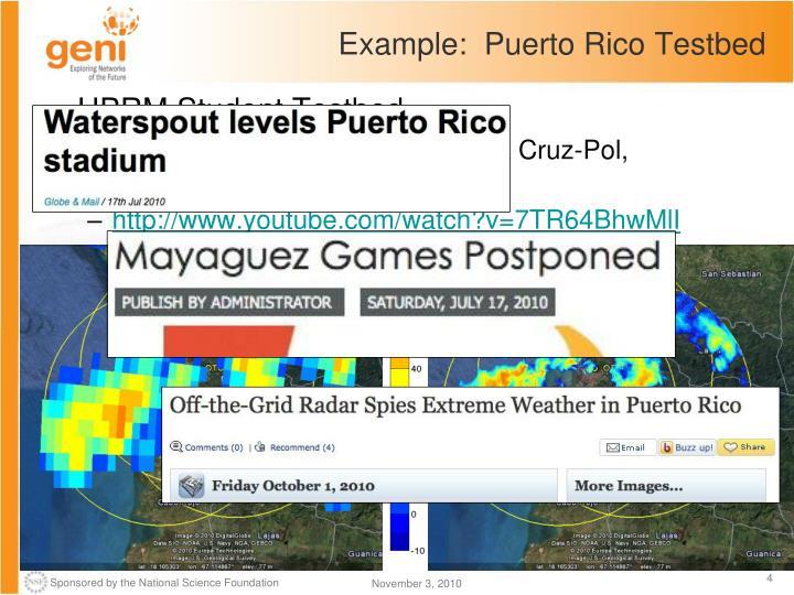 Example:  Puerto Rico