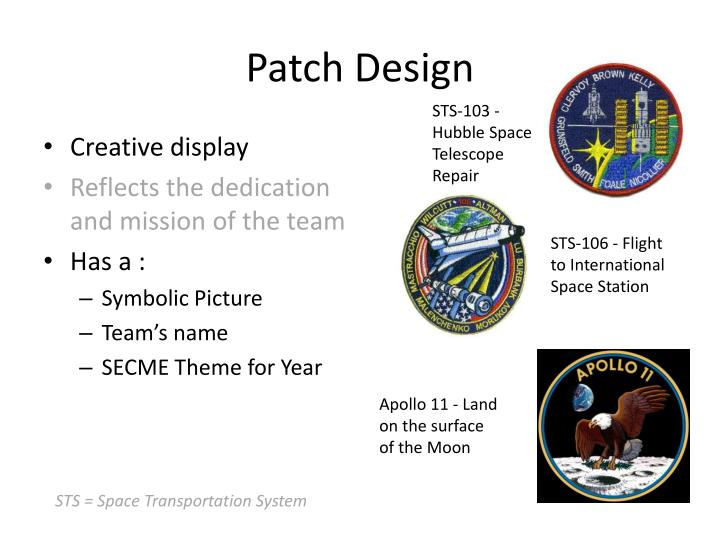 Patch design