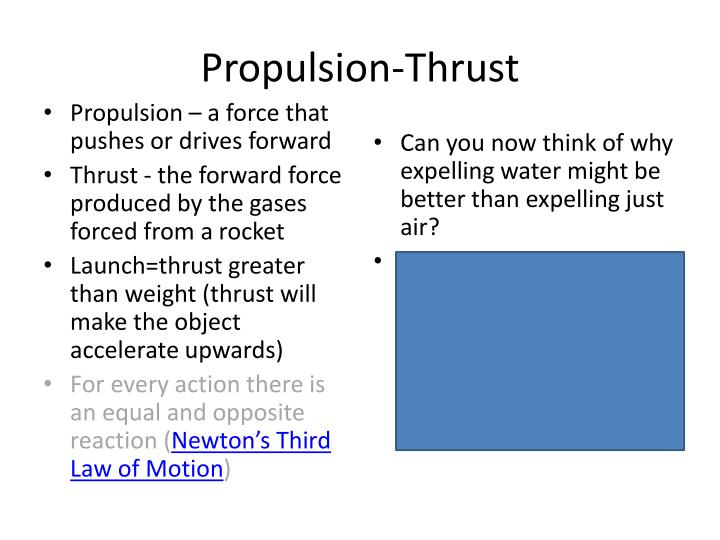 Propulsion-Thrust