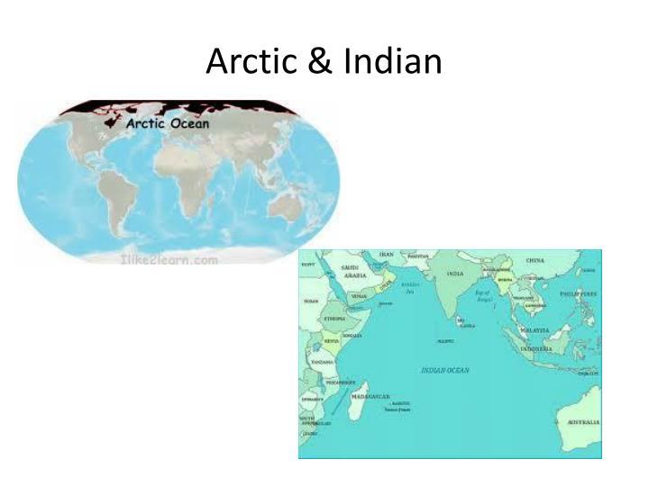 Arctic & Indian