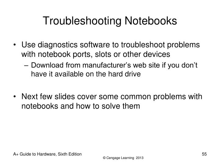Troubleshooting Notebooks