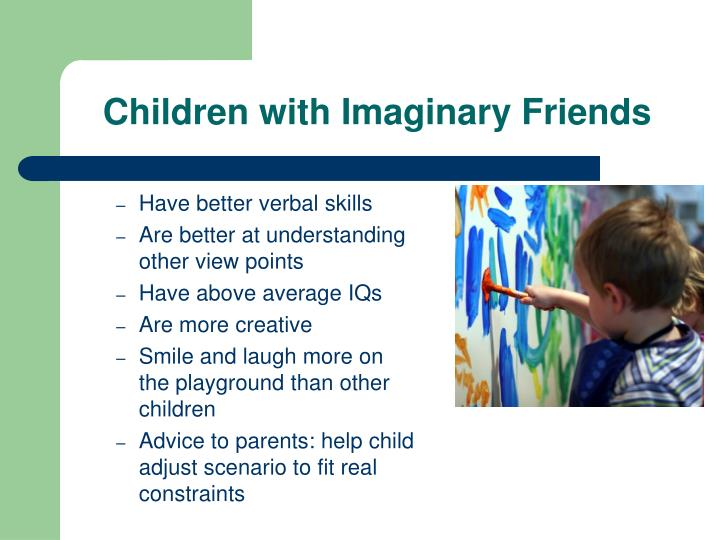 Children with Imaginary Friends