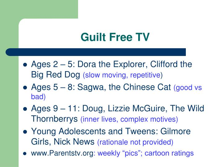 Guilt Free TV