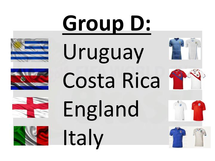 Group D: