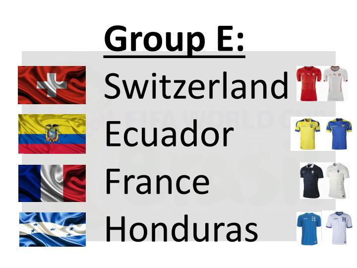 Group E: