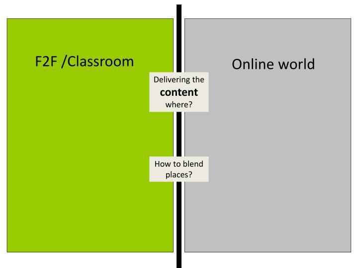 F2F /Classroom
