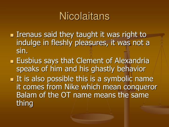 Nicolaitans