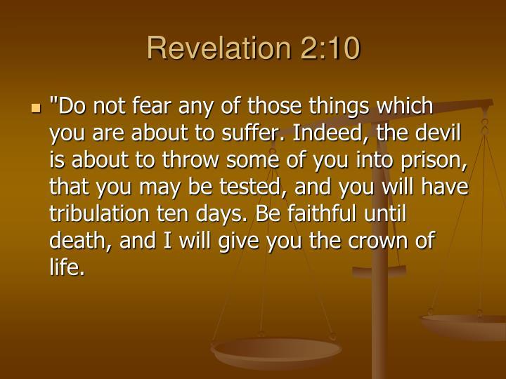 Revelation 2:10