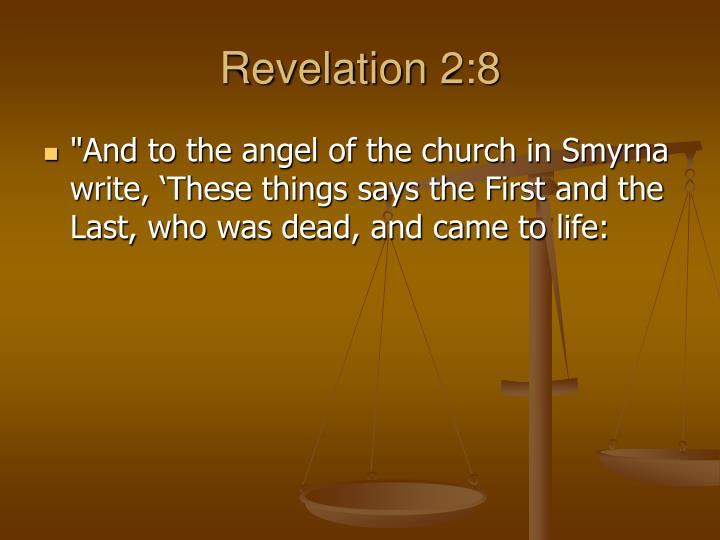 Revelation 2:8