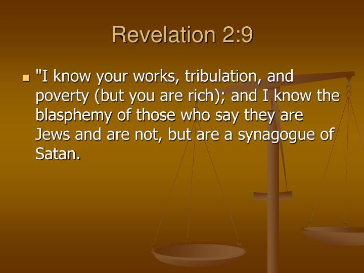 Revelation 2:9