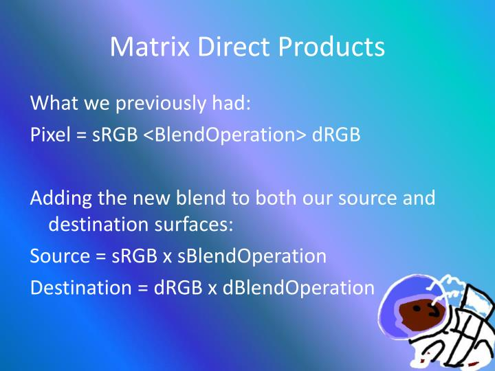 Matrix Direct Products