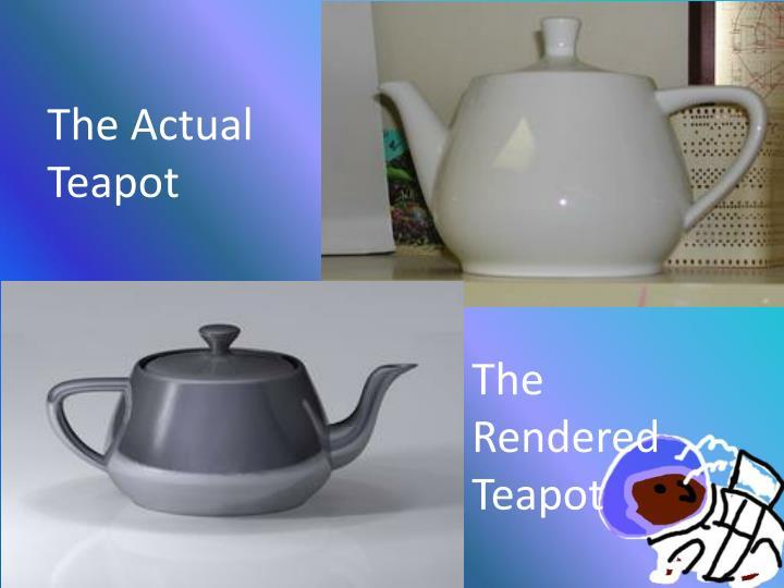 The Actual Teapot