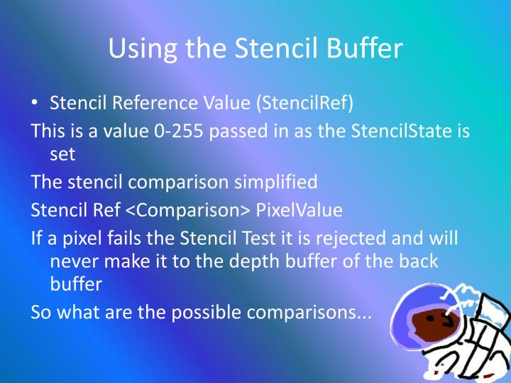 Using the Stencil Buffer
