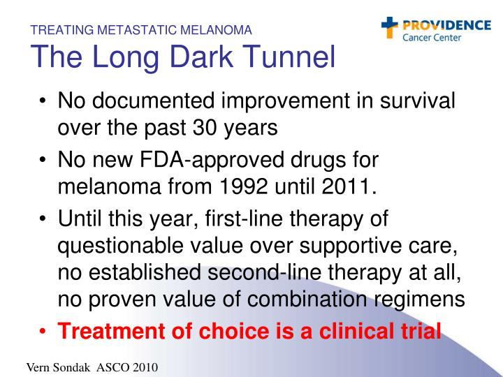 TREATING METASTATIC MELANOMA