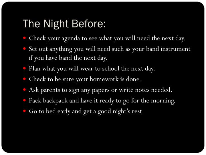 The Night Before: