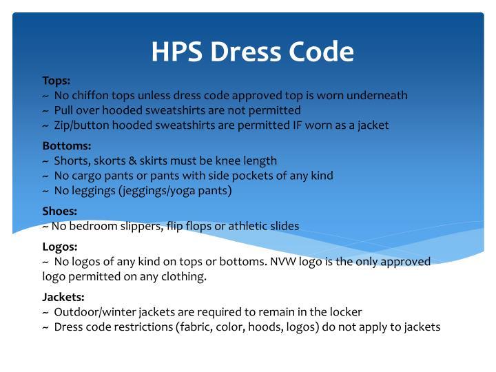 HPS Dress Code