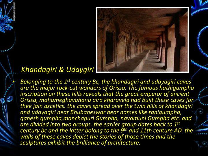 Khandagiri & Udaygiri