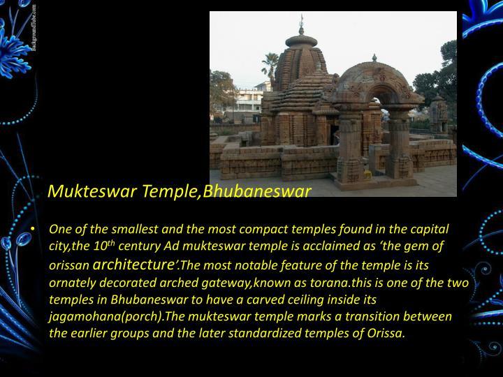 Mukteswar Temple,Bhubaneswar