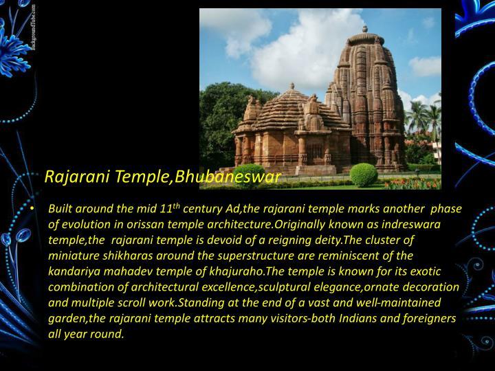 Rajarani Temple,Bhubaneswar