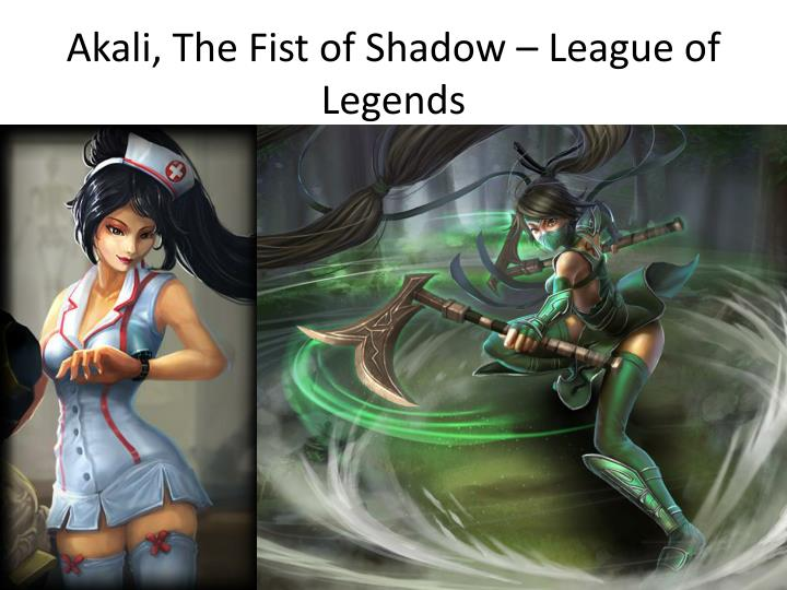 Akali the fist of shadow league of legends