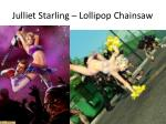 julliet starling lollipop chainsaw