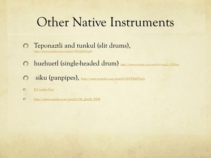 Other Native Instruments