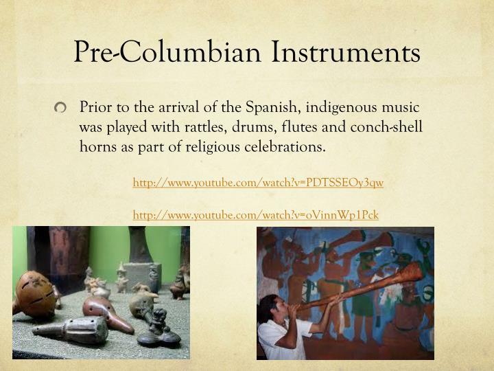 Pre-ColumbianInstruments
