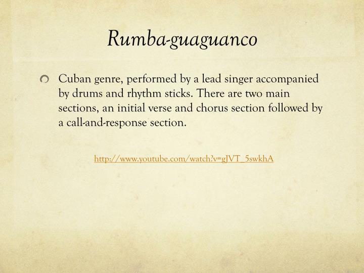 Rumba-