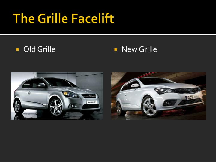 The Grille Facelift