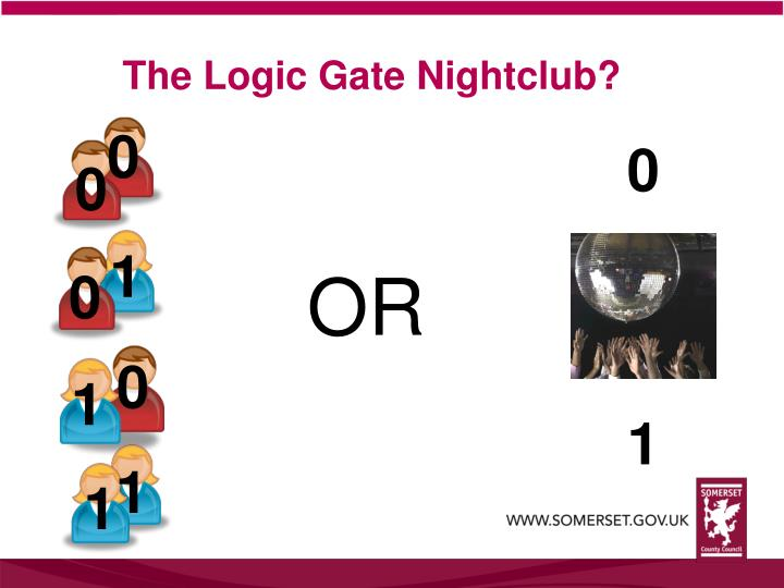 The Logic Gate Nightclub?