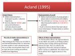 acland 1995