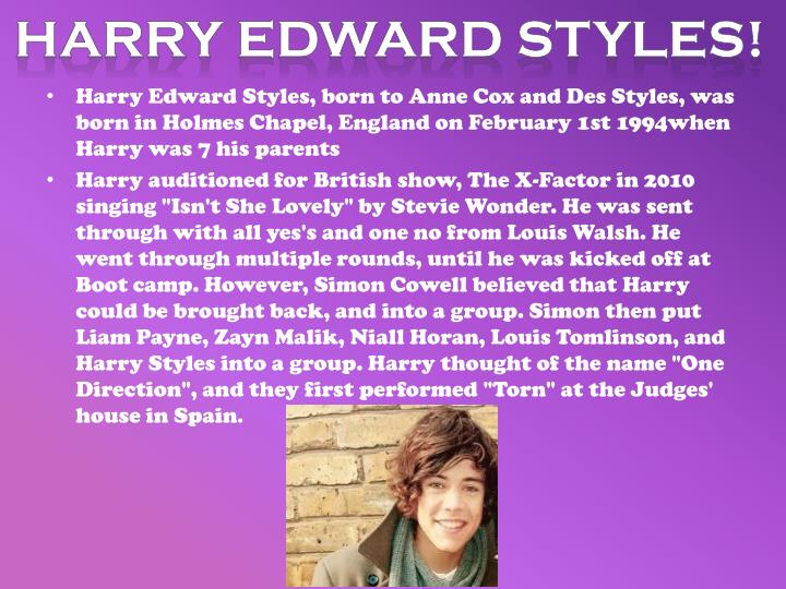 Harry Edward styles!