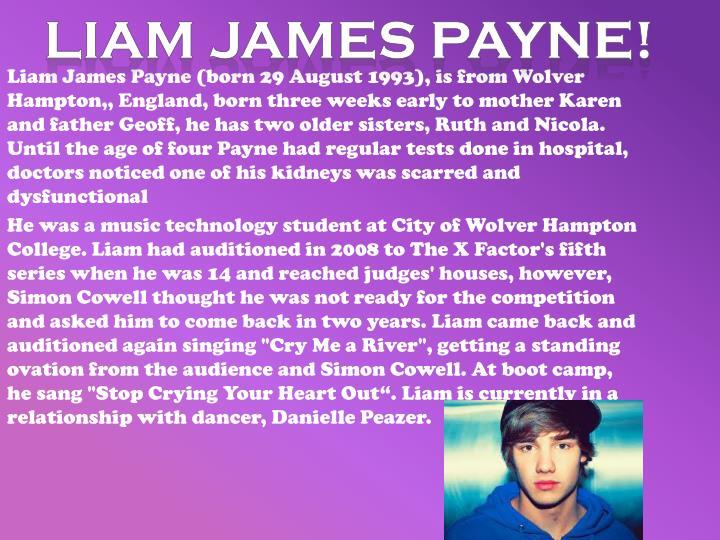 Liam James Payne!