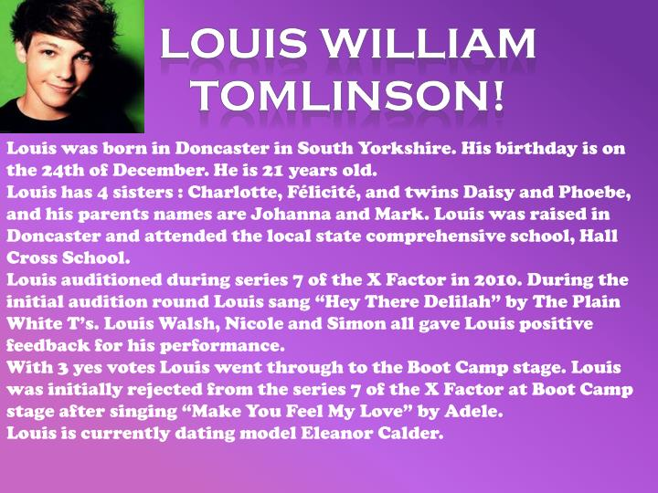 Louis William Tomlinson!