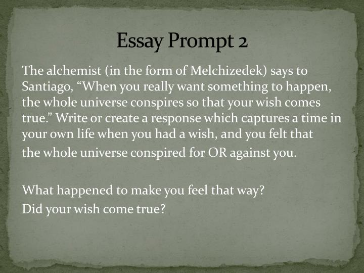 the alchemist essay about santiago View essay - the alchemist essay from eng 101 at arizona braya thomas per1 10/16/13 the alchemist of course i have to talk about the alchemist first the alchemist helped santiago fulfill his.