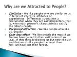 why are we attracted to people