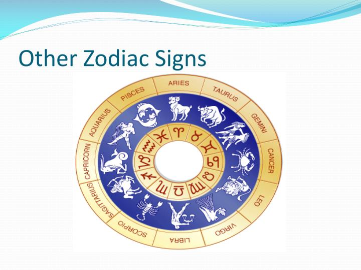 Other Zodiac Signs