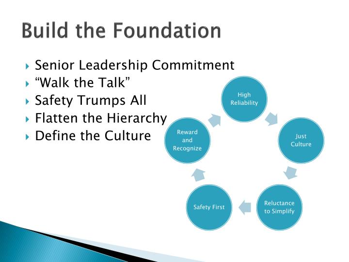 Build the Foundation
