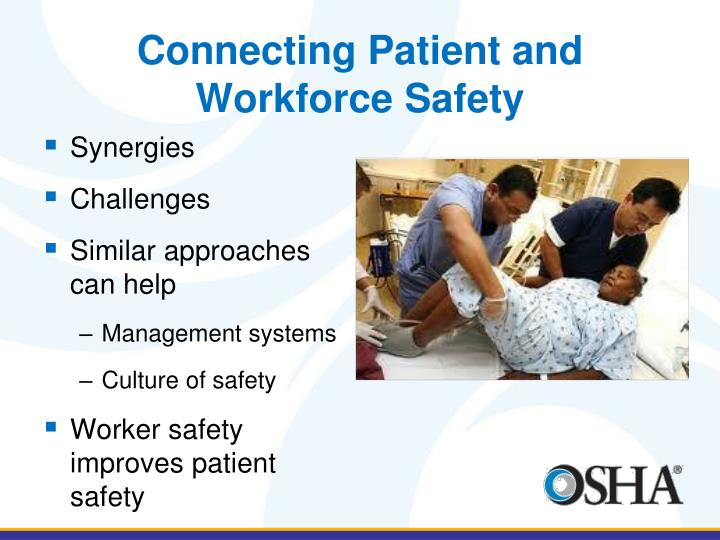 Connecting Patient and Workforce