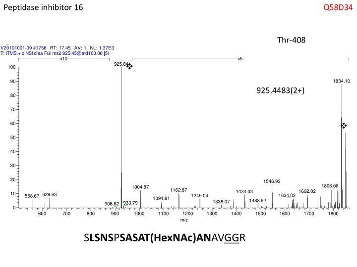 Peptidase inhibitor 16